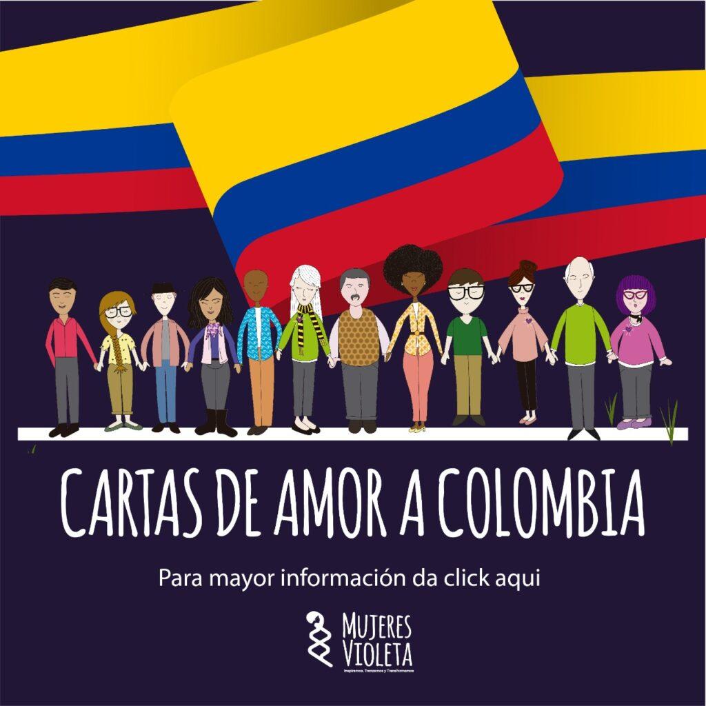 Mujeres Violeta- Cartas de Amor a Colombia
