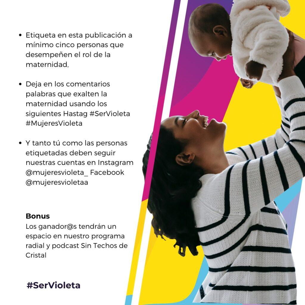 Mujeres Violeta GiveAway